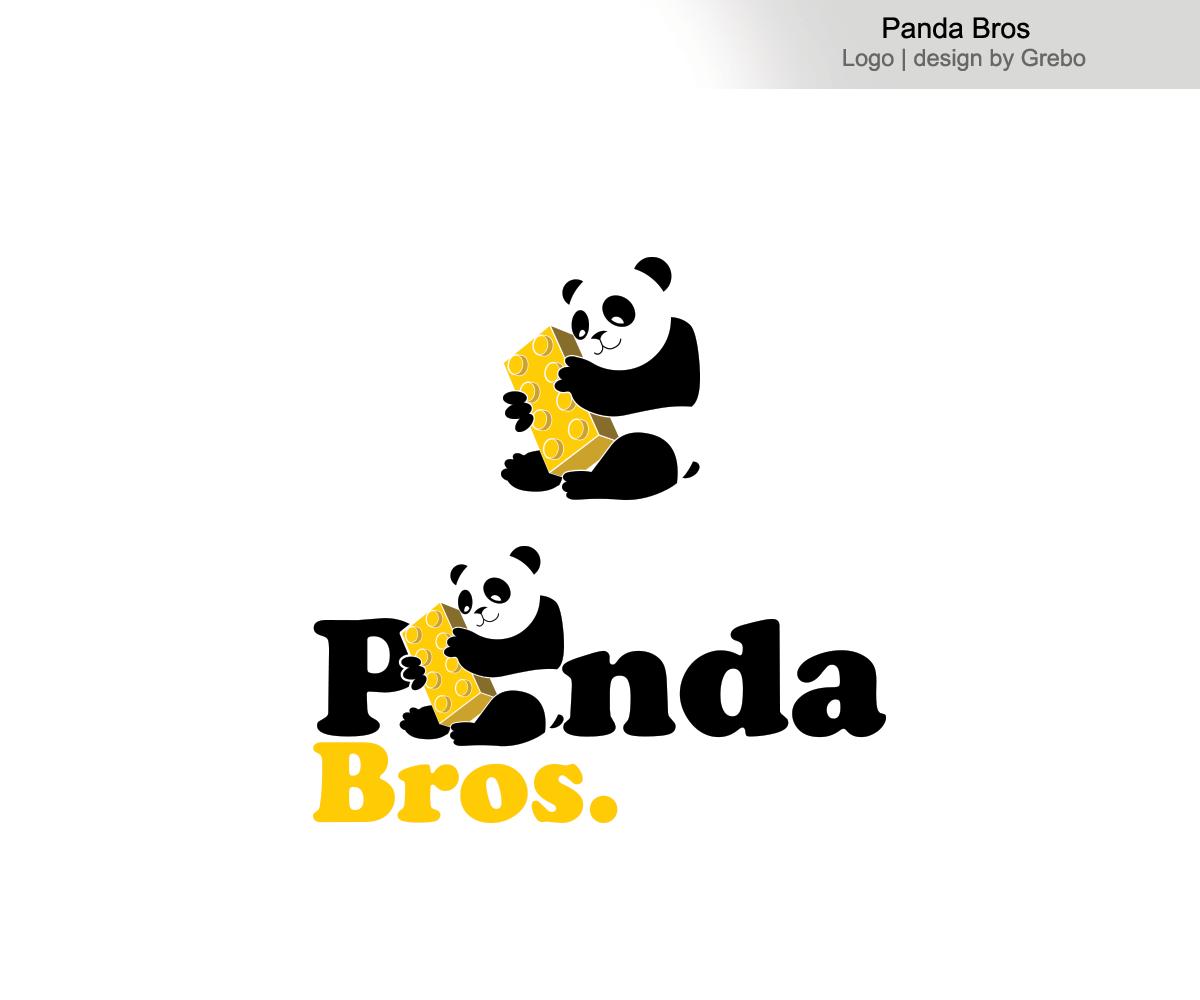 Playful, Modern Logo Design for Panda Bros by Grebo | Design #10364559