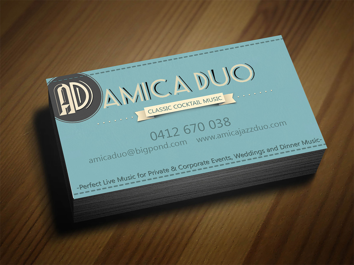 Economical elegant business business card design for moodmusic business card design by d designs for moodmusicentertainment design colourmoves