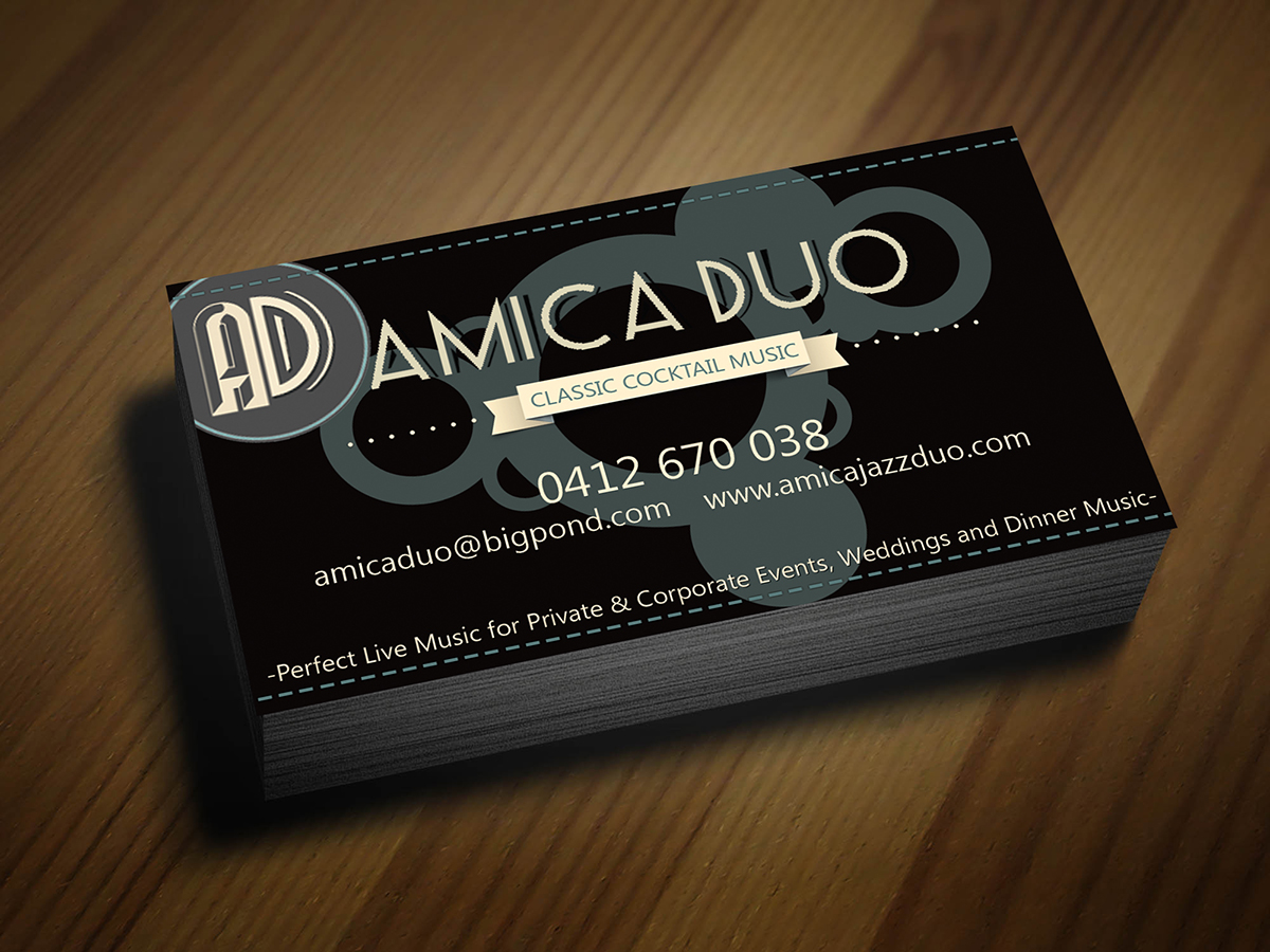 Economical Elegant Business Card Design For Mood