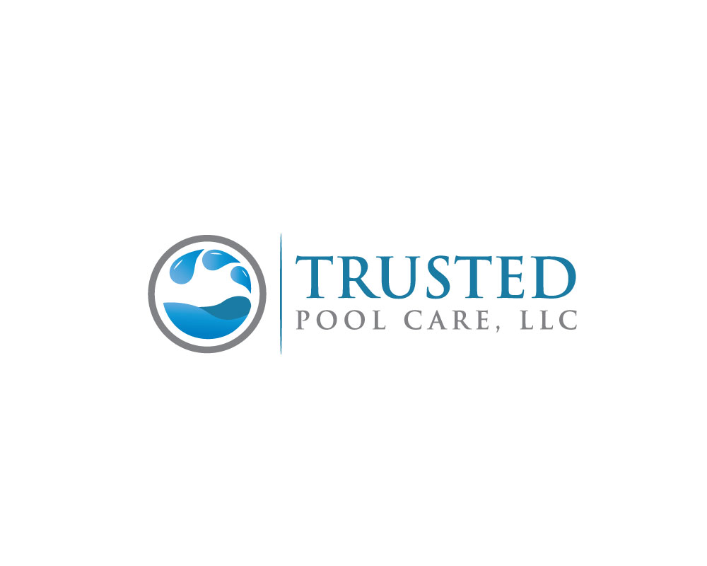 Elegant modern it company logo design for trusted pool for Pool design logo
