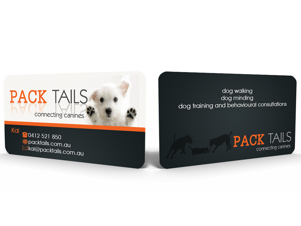 Dog training business card design for a company by sandun harshana business card design by sandun harshana for this project design 2207492 colourmoves