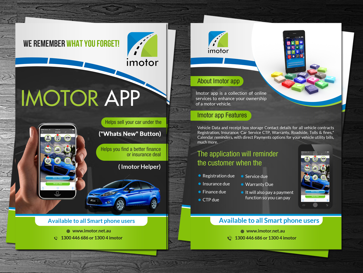 Modern Personable Automotive Postcard Design For A Company By