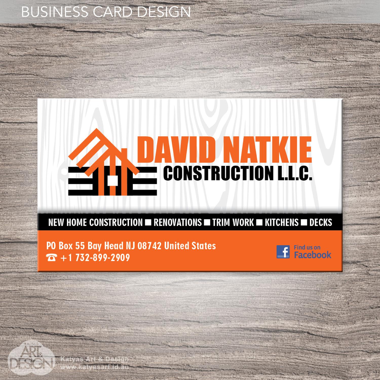 Professional Masculine Home Builder T Shirt Design For David