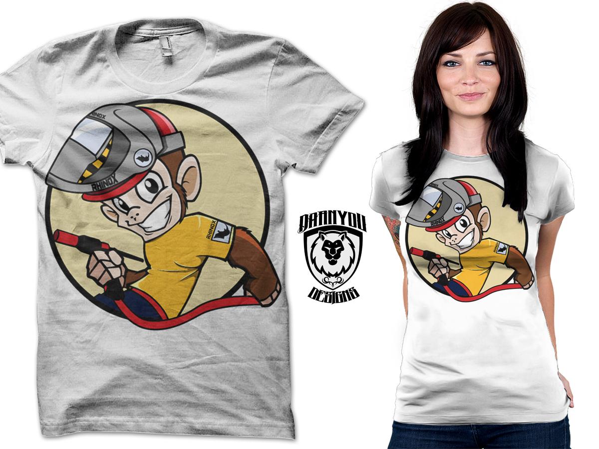 Modern, Professional, Welding T-shirt Design for Rhinox ...