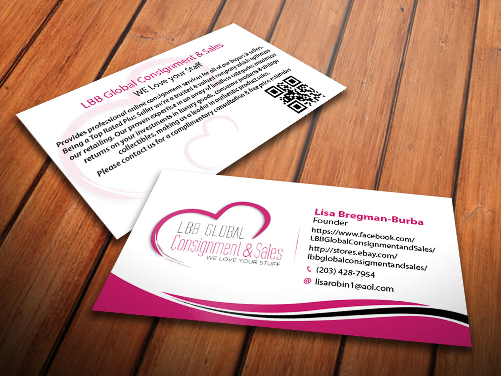Feminine, Upmarket, Business Business Card Design for a Company by ...
