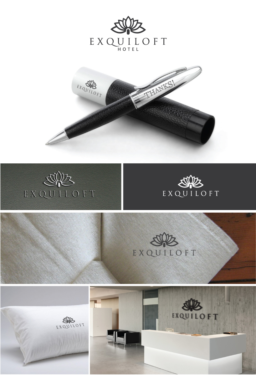 Elegante juguet n logo design for eightsixfive media and for Design hotel chain