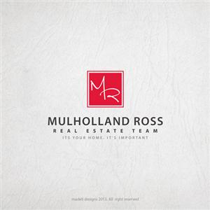 113 Bold Modern Real Estate Logo Designs for The Mulholland Ross ...