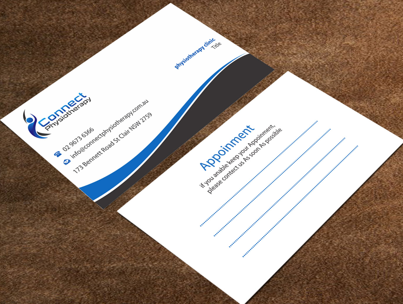 Modern professional physical therapy business card design for a business card design by madhuraminfotech for this project design 10384610 colourmoves