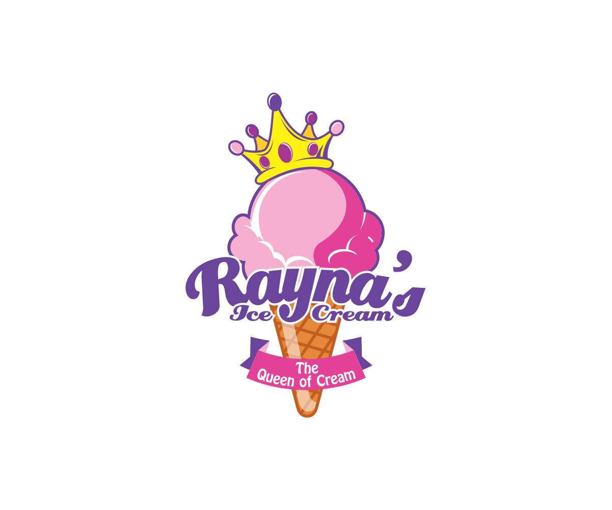 Ice Cream Queen logo by suryokusumo