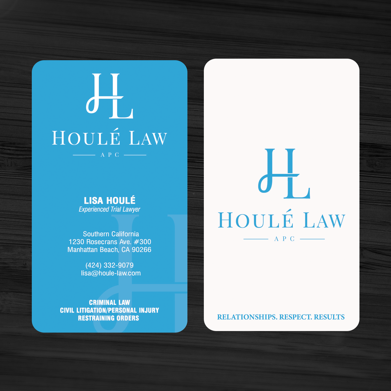Feminine upmarket law firm business card design for a company by business card design by sanrell for this project design 10391523 reheart Choice Image