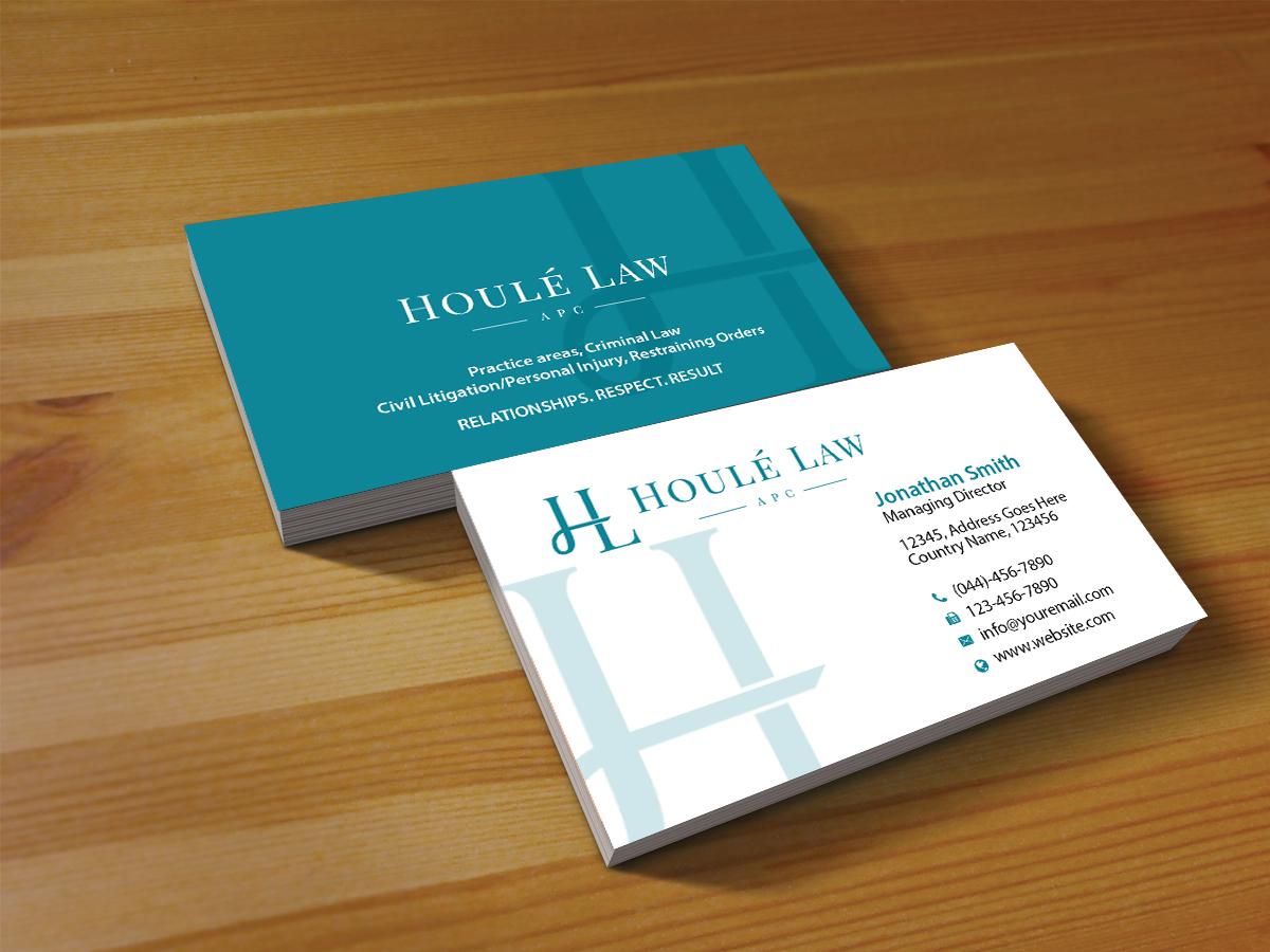 Feminine, Upmarket Business Card Design for Jeffrey Rude by ...