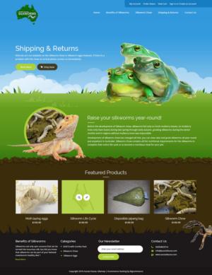 BigCommerce Design by syrwebdevelopment for Aussie Fauna | Design: #10464028