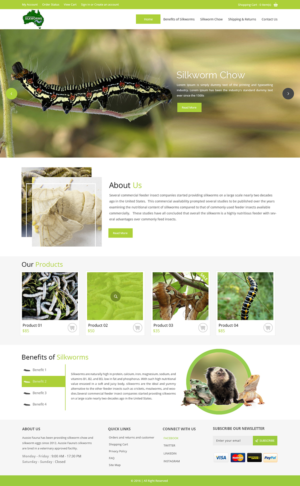 BigCommerce Design by zxsolutions for Aussie Fauna | Design: #10440313