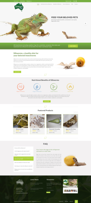 BigCommerce Design by Da Miracle for Aussie Fauna | Design: #10433359
