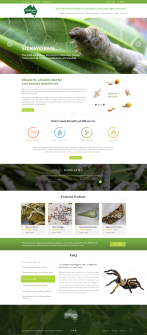 BigCommerce Design by Da Miracle for Aussie Fauna | Design: #10433360