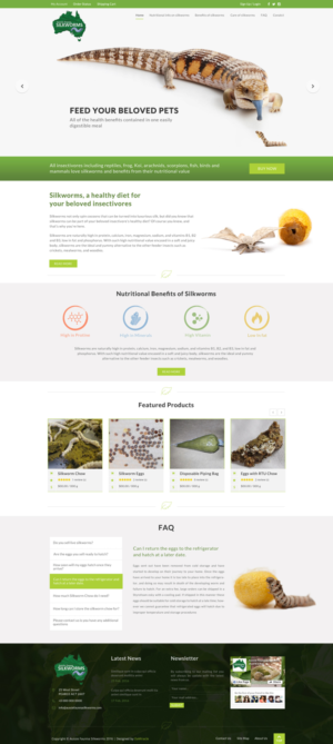 BigCommerce Design by Da Miracle for Aussie Fauna | Design: #10463285