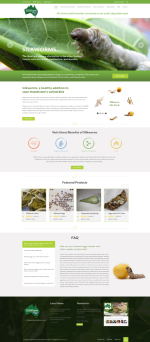 BigCommerce Design by Da Miracle for Aussie Fauna | Design: #10557243