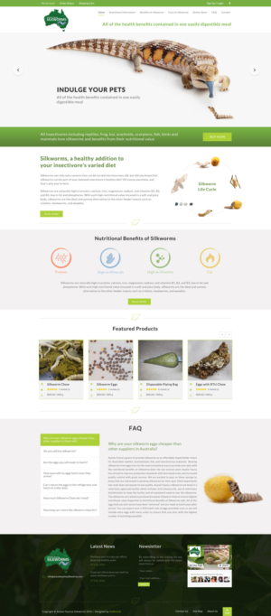 BigCommerce Design by Da Miracle for Aussie Fauna | Design: #10557244