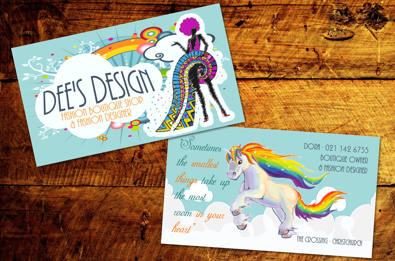 Modern Feminine Business Business Card Design For Dee S Design By Creart Design 10430577