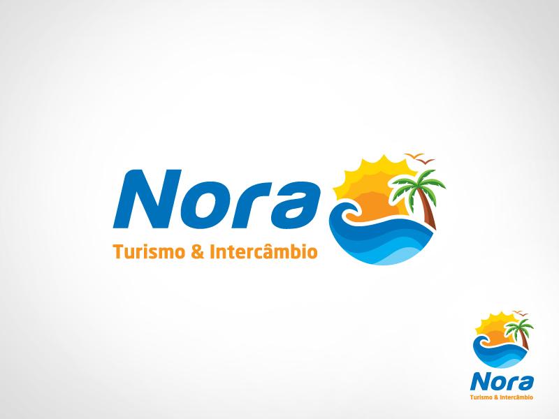 Logo Design By Goh For Nora Turismo