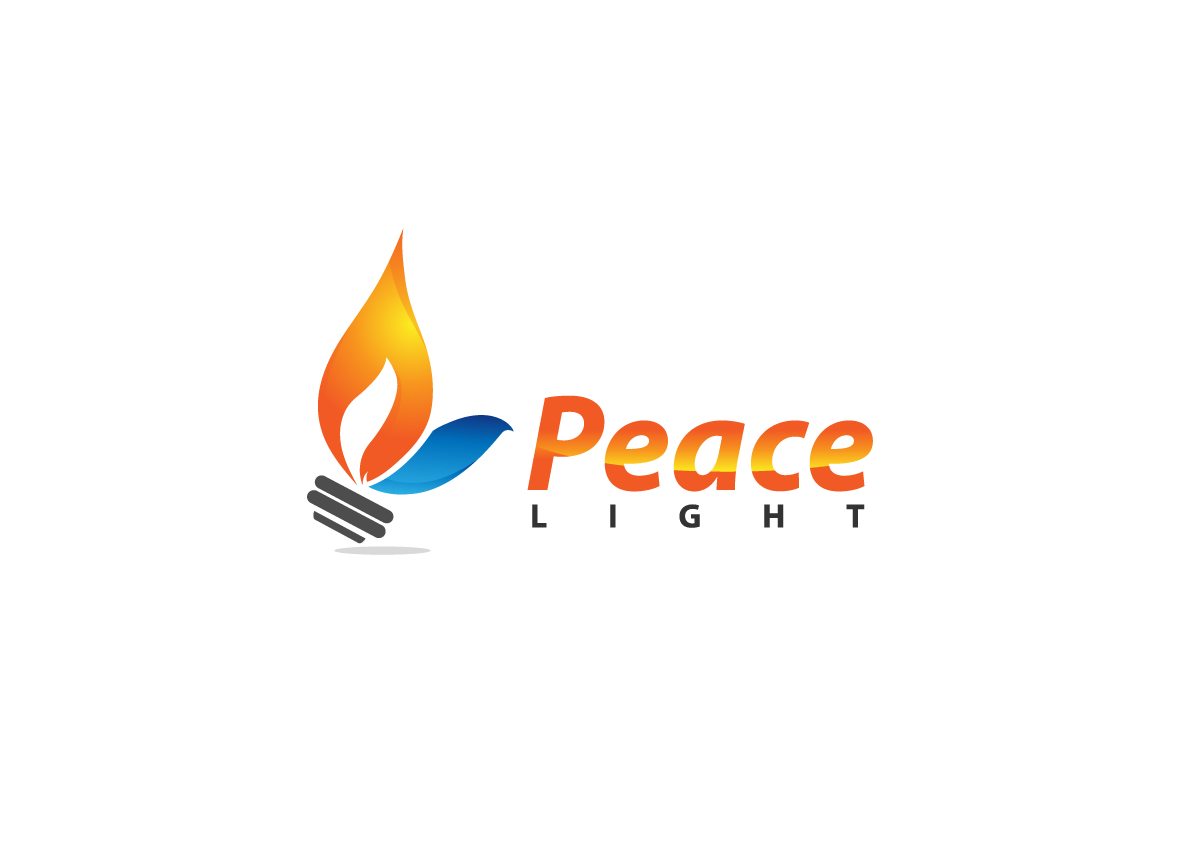 Bold Colorful It Company Logo Design For Peace Light Stone By Creative Bugs Design 10428396