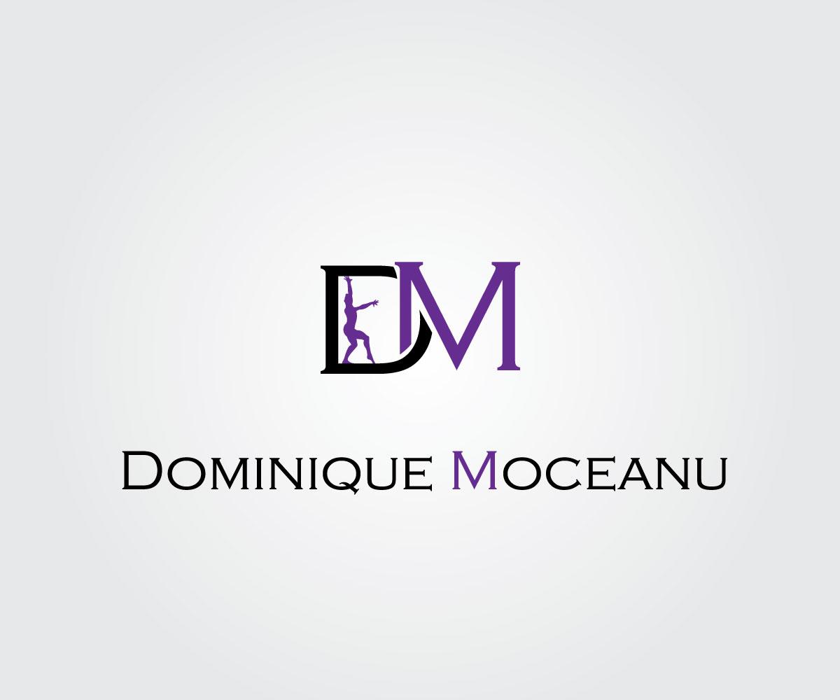 Ernst Modern Online Logo Design Für Dm Dominique Moceanu