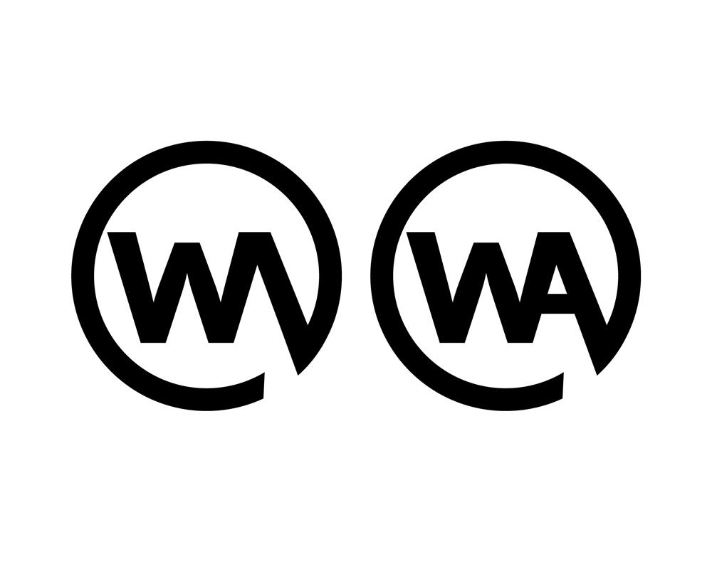 wa logo urbanstreetwear brand logo design contest
