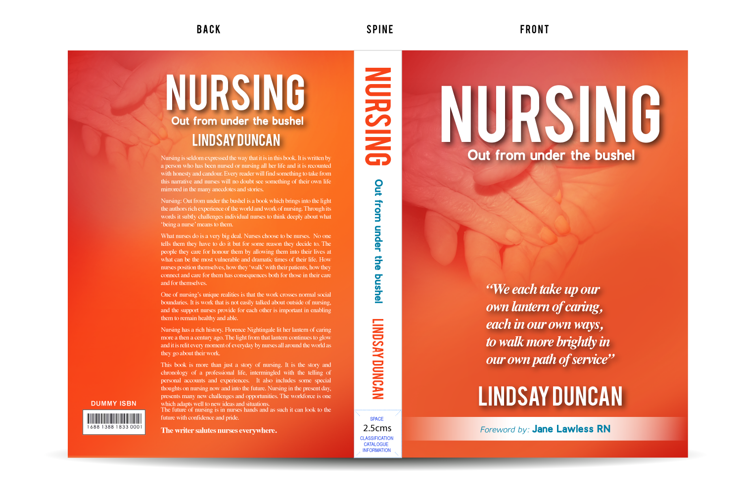 Book Cover Design New Zealand : Professional book cover designs healthcare