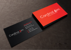 93 serious elegant financial planning business card designs for a business card design design 10458811 submitted to cardinal aim business card project colourmoves Choice Image