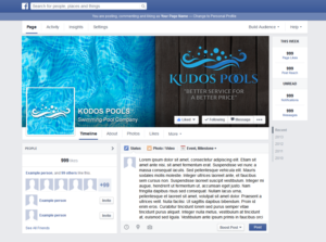 Upmarket modern facebook design job facebook brief for for Creative pool design jobs