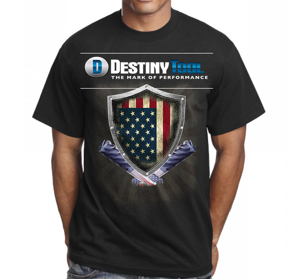 Bold Modern Manufacture T Shirt Design For A Company In United States 10464915
