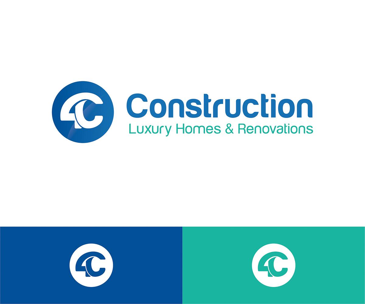 Elegant, Personable, Building Logo Design for 4C Construction Luxury ...