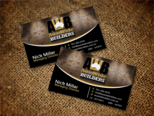 117 Modern Professional Home Builder Business Card Designs for a ...