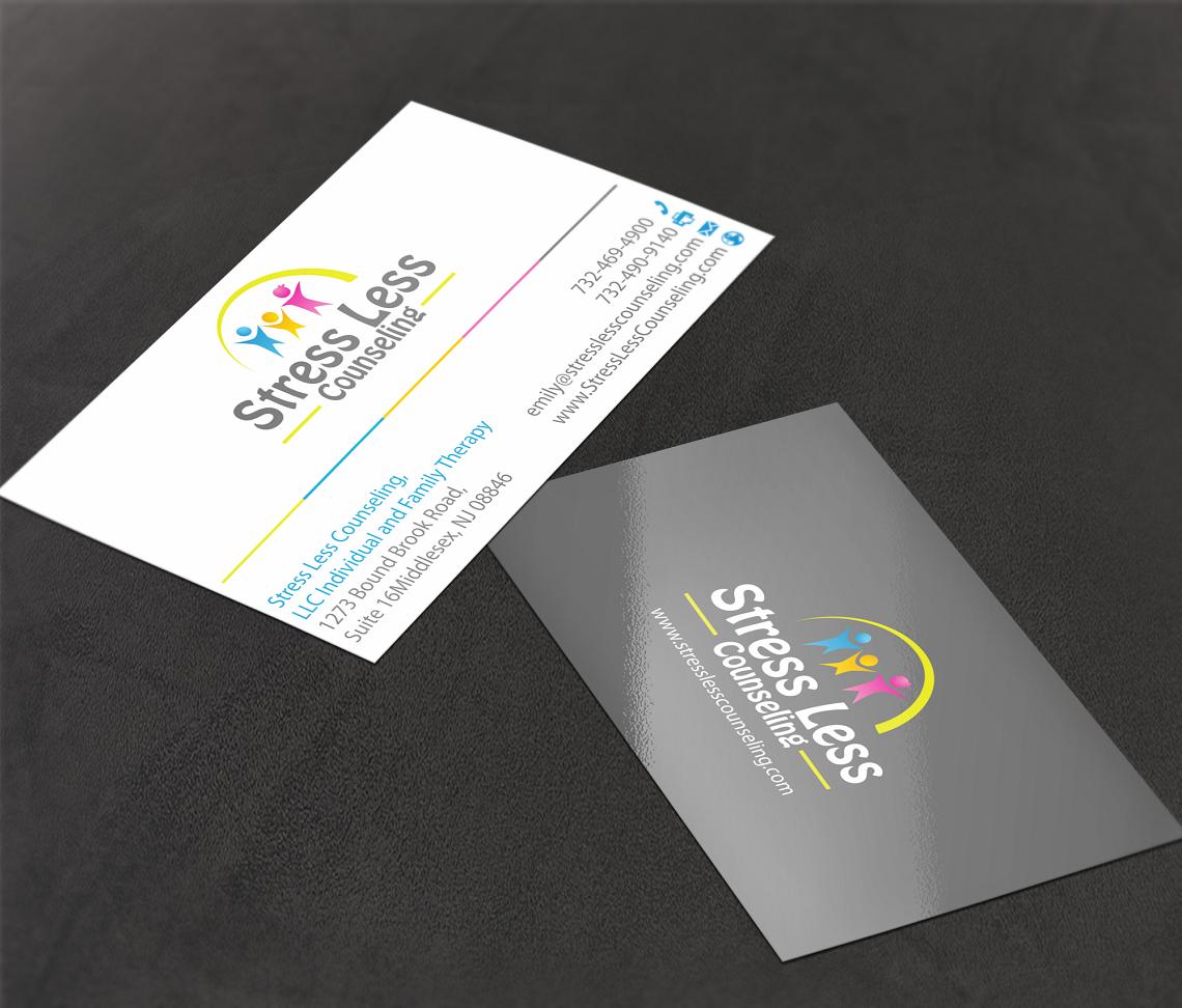 Elegant playful business card design for emily raphel by teddie80 business card design by teddie80 for psychotherapy business card design design 10486806 magicingreecefo Gallery