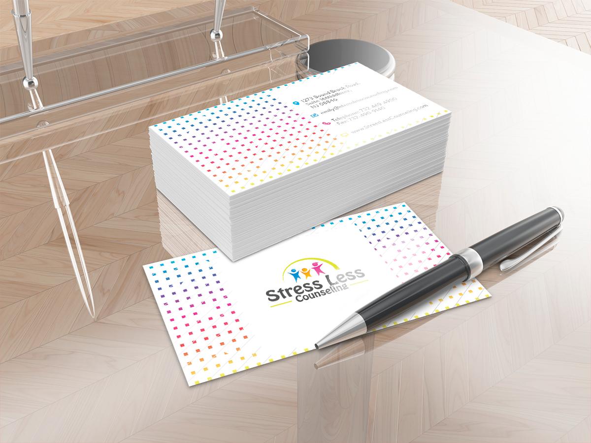 Elegant playful business card design for emily raphel by isabel business card design by isabel paoli for psychotherapy business card design design 10478217 magicingreecefo Gallery