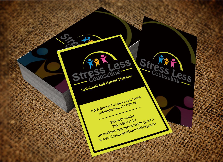 Elegant playful business card design for emily raphel by lanka business card design by lanka ama for psychotherapy business card design design 10482501 magicingreecefo Gallery
