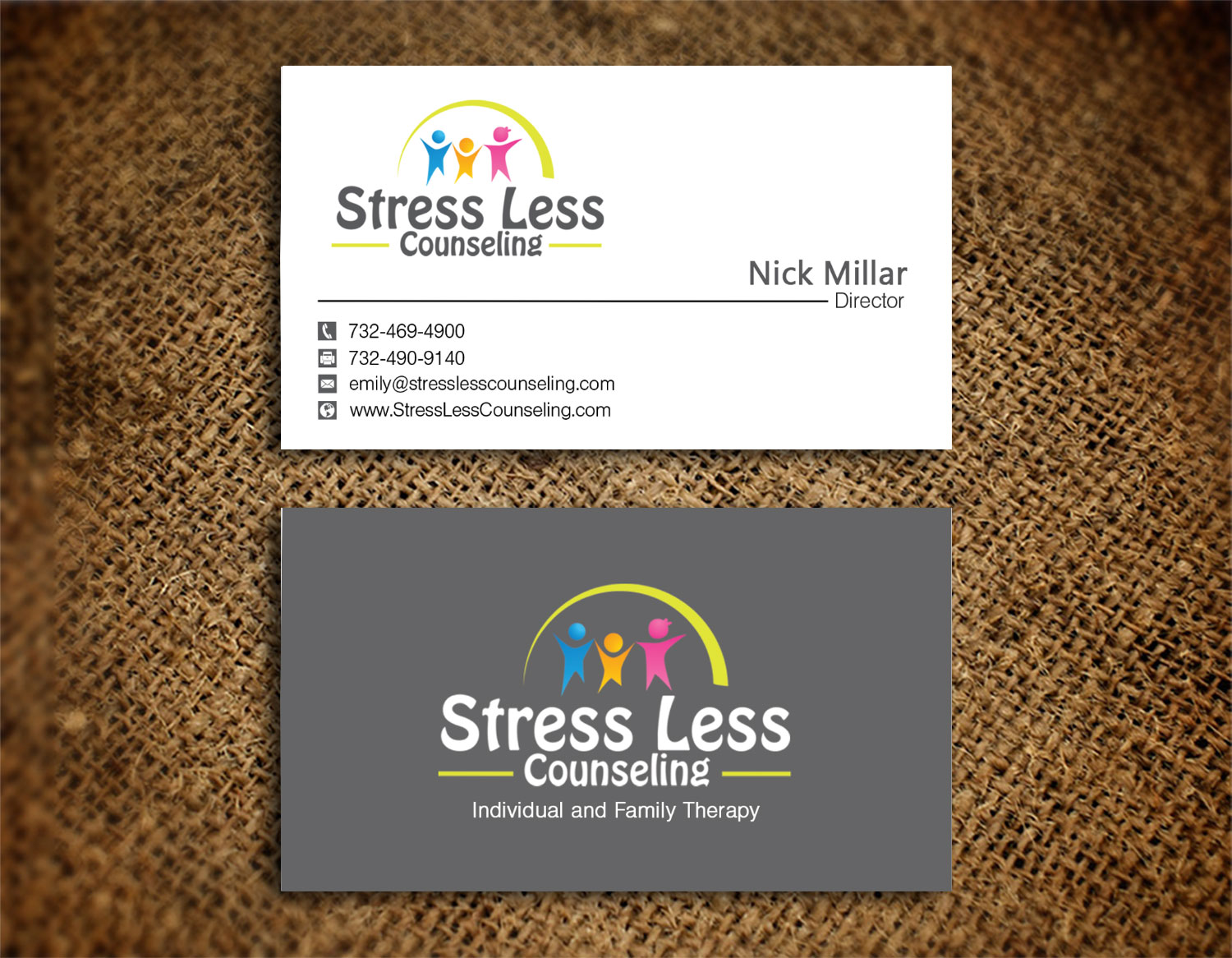 Elegant playful business business card design for a company by business card design by creation lanka for this project design 10482511 colourmoves Choice Image