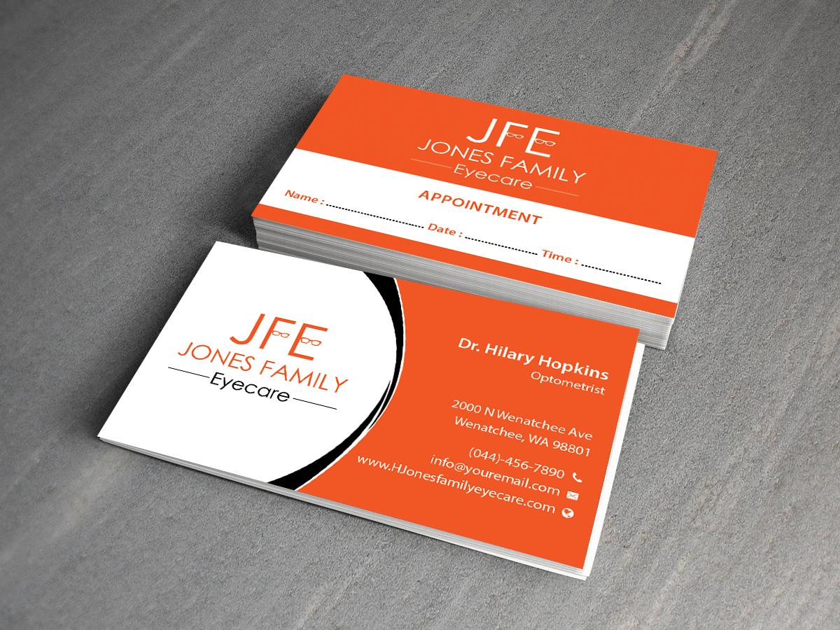 Elegant, Modern, Business Business Card Design for Jones Family ...