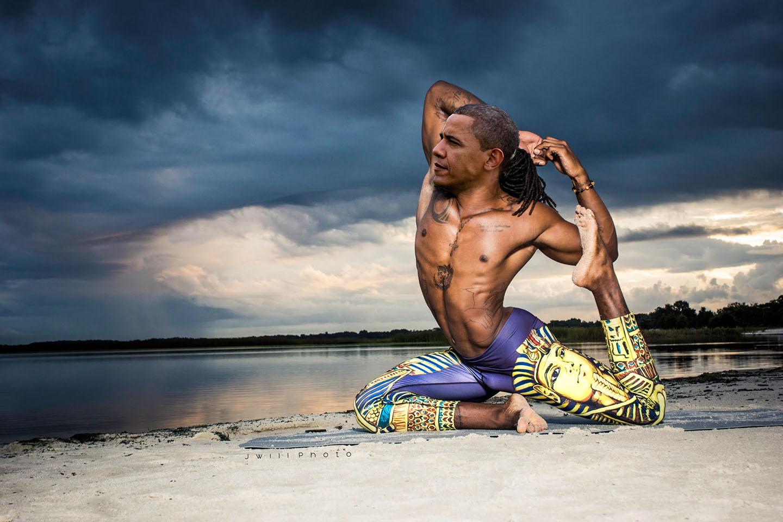 Politicians Performing Yoga Photoshop Contest