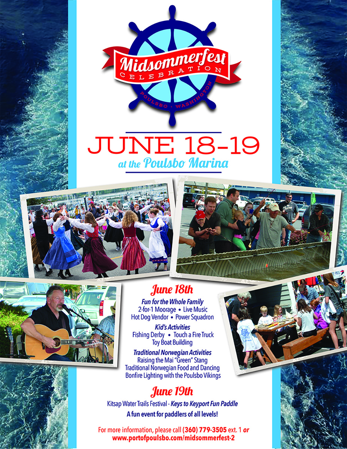 flyer design by tall ideas graphic design for port of poulsbo midsommerfest poster design - Flyer Design Ideas