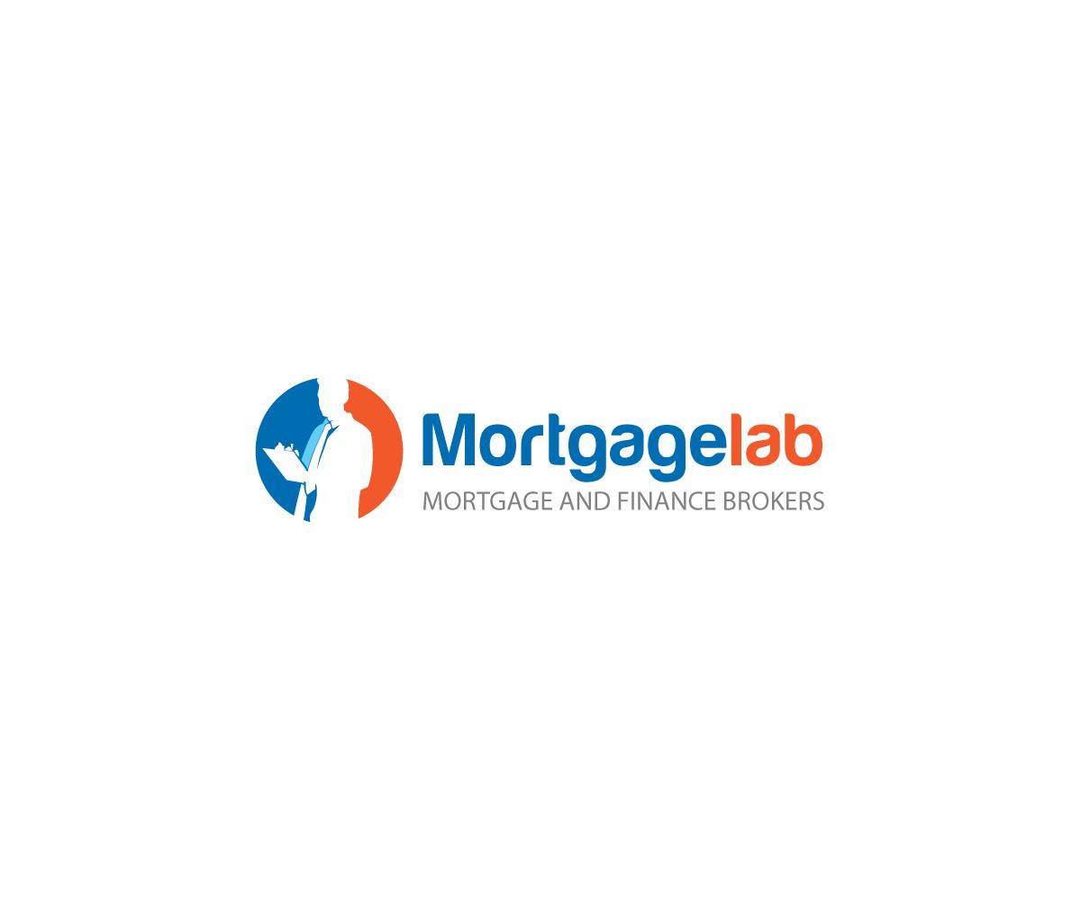 Serious, Upmarket, Finance Logo Design for Mortgagelab