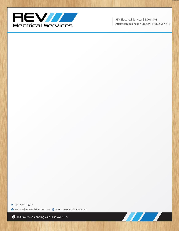 electrical letterhead