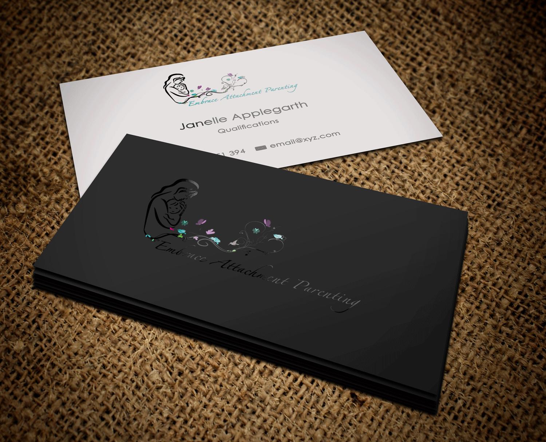 Elegant, Feminine, Business Business Card Design for Embrace ...