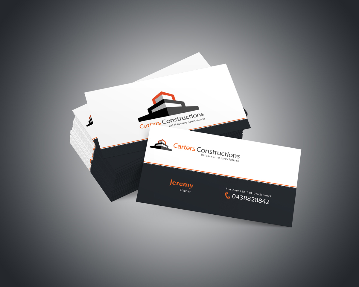 Business Business Card Design for a Company by Zohair Khan | Design ...
