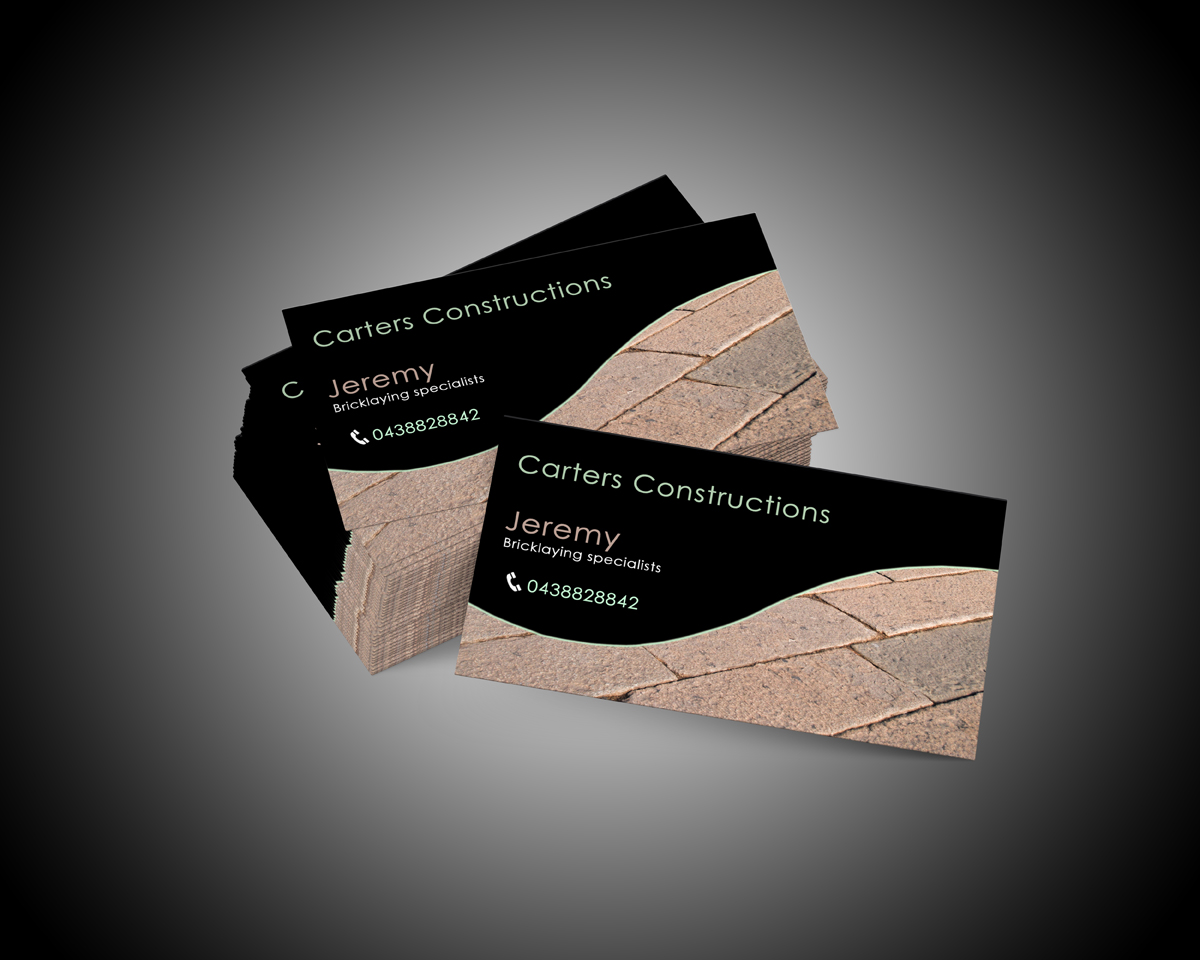 Business Card Design for Jeremy Carter by Zohair Khan | Design ...