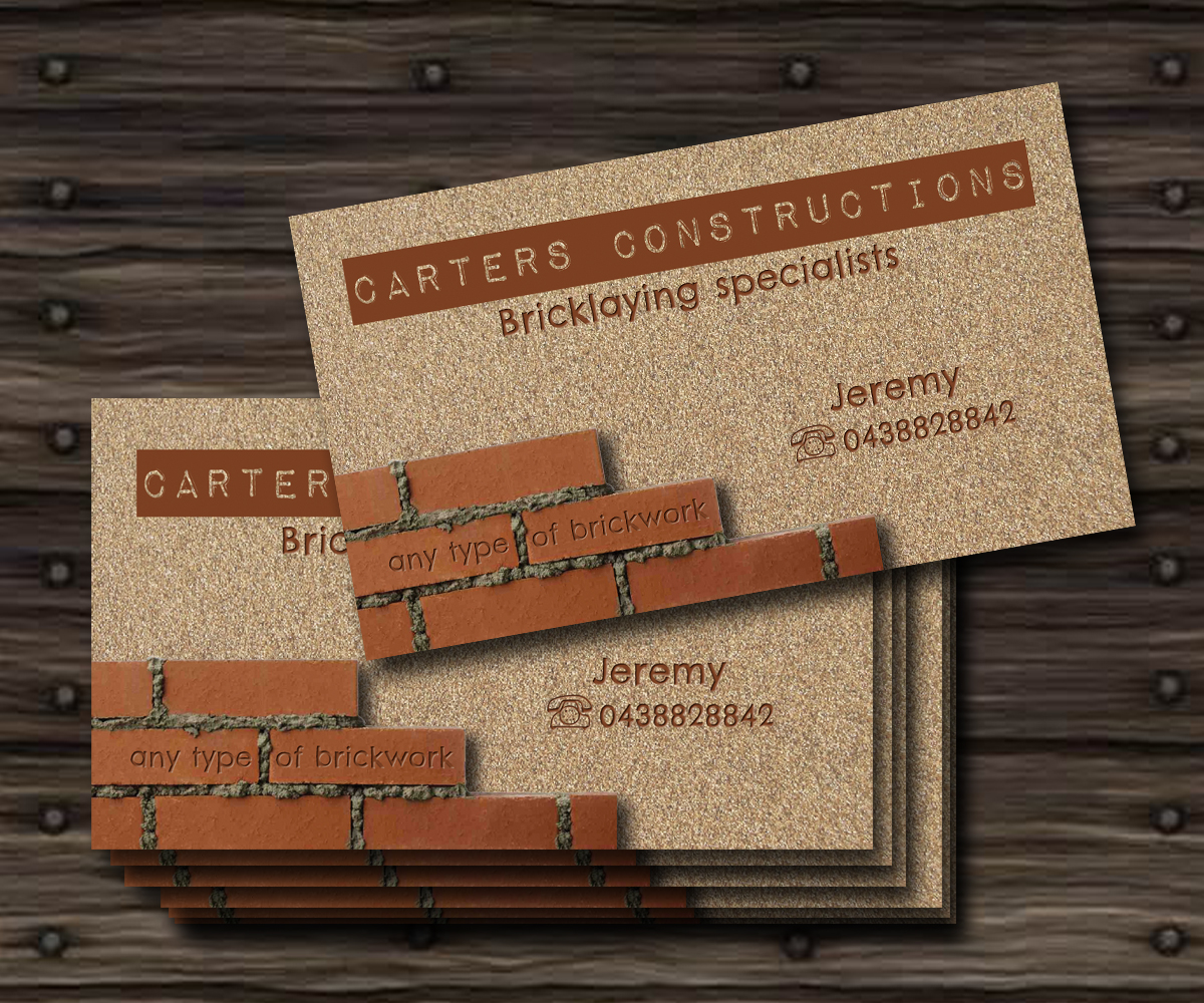 Business Card Design for Jeremy Carter by chiri_09 | Design #2245654