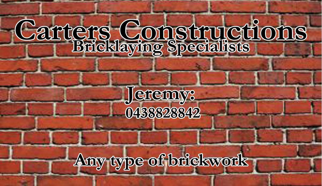 Business Card Design for Jeremy Carter by Sarah W | Design #2257776
