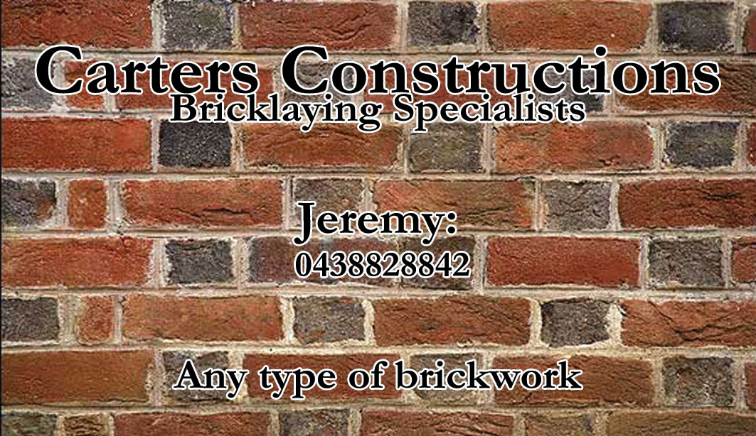 Business Card Design for Jeremy Carter by Sarah W | Design #2257778
