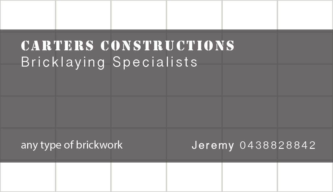 Business Card Design for Jeremy Carter by Raphs | Design #2245696