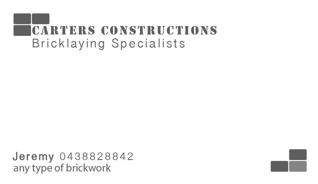 Business Card Design for Jeremy Carter by Raphs | Design #2245781